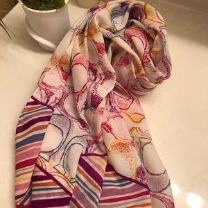 COACH cotton scarf